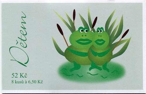 (2004) ZSt 24 - Dětem - žabák Česká pošta
