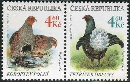 (1998) č. 179-180 ** - sp - Česká republika - polní ptactvo