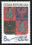 (1993) MiNo. 10 ** - Czech Republic - Large national emblem