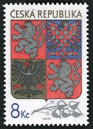 (1993) č. 10 ** - Česká republika - Velký státní znak Česká pošta