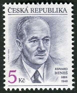 (1994) č. 38 ** - ČR - 110. výročí narození Dr. E. Beneše Česká pošta