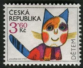Česká pošta (1995) č. 80 ** - ČR - Dětem