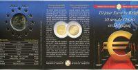 (2012) 2 € - Belgium - Euro 10 years