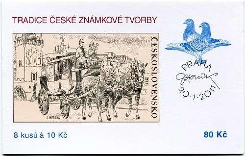 Česká pošta (2011) ZSt 40 - Známková tvorba
