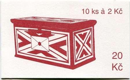 (1993) ZS 14 - Česká pošta - Poštovní schránka