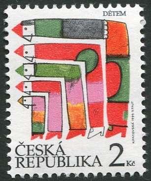 (1994) č. 41b ** - 2 Kc - ČR - Dětem - mezinárodní den dětí