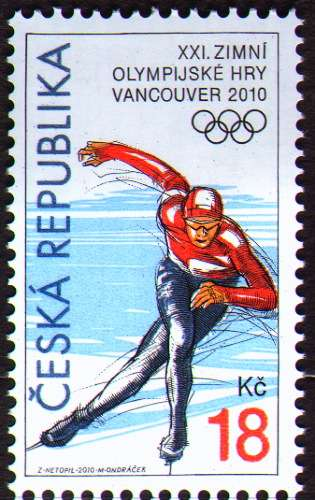 (2010) č. 621 ** - ČR - XXI. ZOH Vancouver