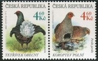 (1998) MiNr. 178-179 ** - Tschechische Rep. - briefmarken