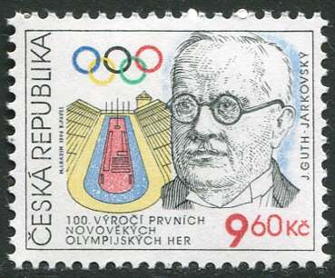 (1996) č. 109 ** - ČR - 100. výročí prvních novodobých Olympijských her