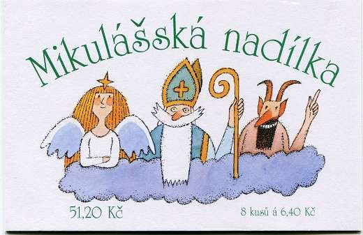 Česká pošta (2002) ZSt 17 - Mikulášská nadílka