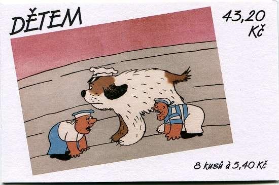 (2001) ZSt 14 - Dětem - maxipes Fík Česká pošta