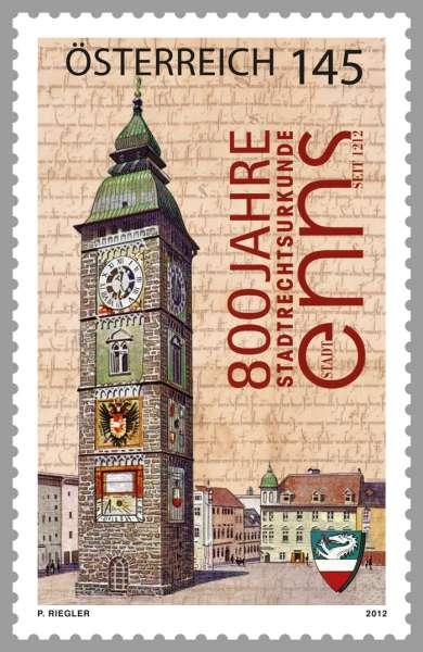 (2012) č. 2988 ** - Rakousko - 800 let Enns