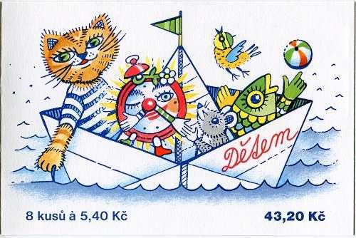 Česká pošta (2000) ZSt 12 - Dětem - budík