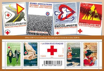 (2011) č. 5230 - 5234 ** - Francie - BLOCK 170 - Červený kříž 2011