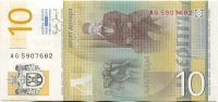 Srbsko - (P46) bankovka 10 DINARA (2006) - UNC