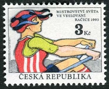 (1993) č. 20 ** - ČR - MS ve veslování, Račice 1993