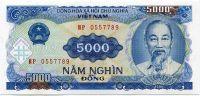 Vietnam - (P108) - 5000 Dông (1991) - UNC