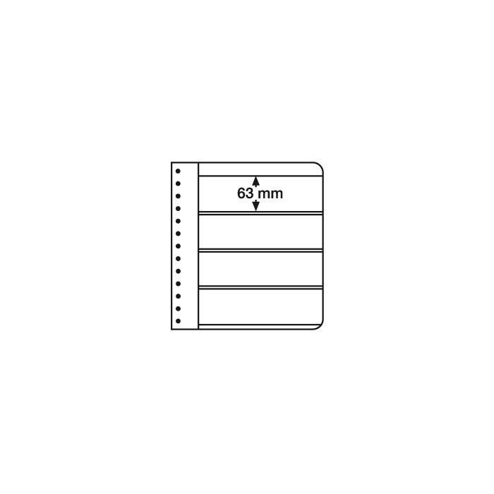 G list 4 W do pákových desek, bílý