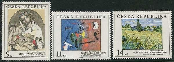 (1993) č. 27-29 ** - ČR - Umění 1993 (série)