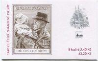 (2000) ZSt 10 - Tradice české známkové tvorby