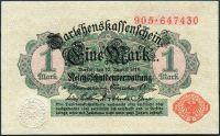 (1914) Ros. 51c / Pi. 51 - 1 Marka - UNC (sér. 905 z r. 1917)