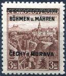 (1939) č. 16 ** - B.u.M. - 3 Kč - přetisková série (zk. Gi)