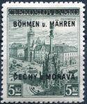(1939) č. 18 ** - B.u.M. - 3 Kč - přetisková série