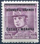 (1939) č. 8 ** - B.u.M. - 60 h - přetisková série (zk.)