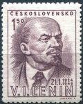 (1949) č. 498 ** - ČSSR - II. typ - V. I. Lenin