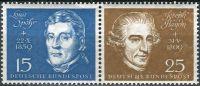 (1959) MiNr. 316 + 318 ** - Německo - 2-bl - Slavnostní otevření Beethovenhalle Bonn