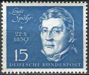 (1959) MiNr. 316 ** - Německo - Slavnostní otevření Beethovenhalle Bonn