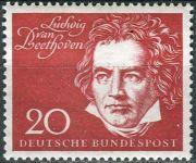 (1959) MiNr. 317 ** - Německo - Slavnostní otevření Beethovenhalle Bonn