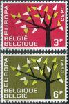 (1962) MiNr. 1282 - 1283 ** - Belgie - EUROPA