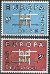 (1963) MiNr. 1320 - 1321 ** - Belgie - EUROPA