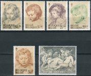 (1963) MiNr. 1332 - 1337 ** - Belgie - Boj proti tuberkulóze: malby Peter Paul Rubens