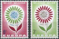 (1964) MiNr. 1358 - 1359 ** - Belgie - EUROPA