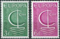 (1966) MiNr. 1446 - 1447 ** - Belgie - EUROPA