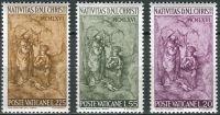 (1966) MiNr. 514 - 516 ** - Vatikán - Vánoce