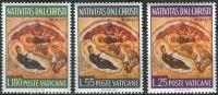 (1967) MiNr. 533 - 535 ** - Vatikán - Vánoce