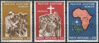 (1969) MiNr. 550 - 552 ** - Vatikán - Papežova návštěva Ugandy
