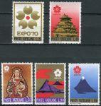 (1970) MiNr. 556 - 560 ** - Vatikán - EXPO '70, Osaka
