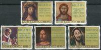 (1970) MiNr. 564 - 568 ** - Vatikán - 50. výročí papeže Pavla VI jako kněze: Obrazy