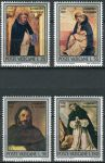 (1971) MiNr. 586 - 589 ** - Vatikán - 800. narozeniny sv. Dominic z Guzman