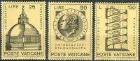 (1972) MiNr. 596 - 598 ** - Vatikán - Bramante - architekt
