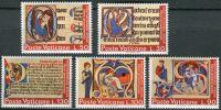 (1972) MiNr. 605 - 609 ** - Vatikán - Mezinárodní rok knihy