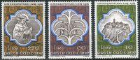 (1974) MiNr. 643 - 645 ** - Vatikán - 700. výročí úmrtí sv. Bonaventura