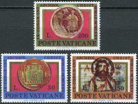 (1975) MiNr. 664 - 666 ** - Vatikán - 9. mezinárodní kongres křesťanské archeologie