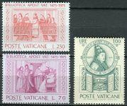 (1975) MiNr. 667 - 669 ** - Vatikán - 500 let Vatikánská knihovna