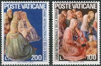 (1975) MiNr. 670 - 671 ** - Vatikán - Mezinárodní rok ženy