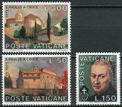(1975) MiNr. 672 - 674 ** - Vatikán - 200. výročí úmrtí: sv. Pavel od Kříže
